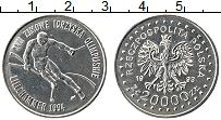 Изображение Монеты Польша 20000 злотых 1993 Медно-никель XF Герб. Олимпиада 94.