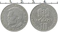 Изображение Монеты Польша 10 злотых 1977 Медно-никель VF