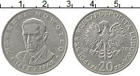 Изображение Монеты Польша 20 злотых 1976 Медно-никель VF Маргел Новотко