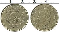 Изображение Монеты Испания 100 песет 1999 Латунь XF