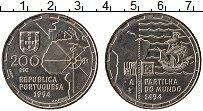Изображение Монеты Португалия 200 эскудо 1994 Медно-никель UNC- 500-летие раздела Ми
