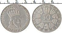 Изображение Монеты Австрия 50 шиллингов 1965 Серебро UNC-