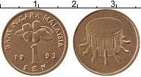 Продать Монеты Малайзия 1 сен 1994 Бронза