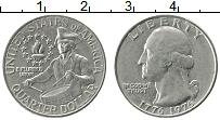 Изображение Монеты США 1/4 доллара 1976 Медно-никель UNC-