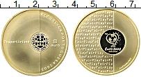 Изображение Монеты Португалия 8 евро 2003 Золото Proof Чемпионат Европы по