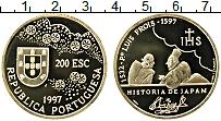 Изображение Монеты Португалия 200 эскудо 1997 Золото Proof Луис Фруа. История Я