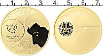 Изображение Монеты Португалия 8 евро 2004 Золото Proof Чемпионат Европы по