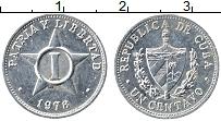 Изображение Монеты Куба 1 сентаво 1978 Алюминий XF