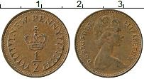 Изображение Монеты Великобритания 1/2 пенни 1974 Бронза XF