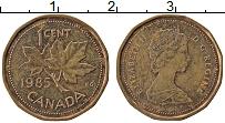 Изображение Монеты Канада 1 цент 1985 Бронза XF