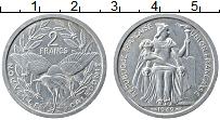 Продать Монеты Новая Каледония 2 франка 1949 Алюминий