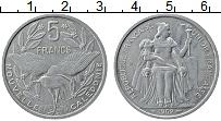 Продать Монеты Новая Каледония 5 франков 1952 Алюминий