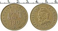 Продать Монеты Новая Каледония 100 франков 1987 Медно-никель
