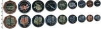 Изображение Наборы монет Нидерланды Остров Святого Евстафия Остров Святого Евстафия 2013 2013  UNC-