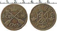 Изображение Монеты Швеция 2 эре 1765 Медь VF Адольф Фредрик