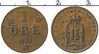 Изображение Монеты Швеция 1 эре 1901 Медь XF Оскар II
