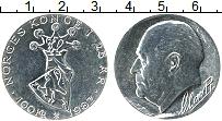 Изображение Монеты Норвегия 100 крон 1982 Серебро UNC- 25 лет на троне Олаф