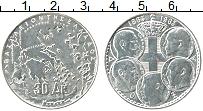 Изображение Монеты Греция 30 драхм 1963 Серебро XF 100 лет династии