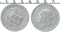 Изображение Монеты Вестфалия 50000000 марок 1923 Алюминий VF- Министр фон Штейн