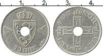 Изображение Монеты Норвегия 50 эре 1925 Медно-никель XF