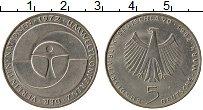 Изображение Монеты ФРГ 5 марок 1982 Медно-никель UNC-