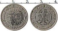 Продать Монеты Веймарская республика 50 пфеннигов 1936 Никель