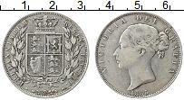 Изображение Монеты Великобритания 1/2 кроны 1885 Серебро VF