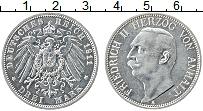 Продать Монеты Анхальт 3 марки 1911 Серебро