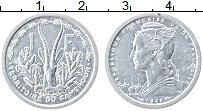 Изображение Монеты Камерун 1 франк 1948 Алюминий XF Антилопа
