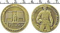 Изображение Монеты Эстония 1 тулион 2007 Латунь UNC-