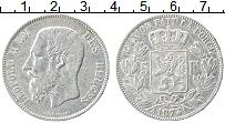 Изображение Монеты Бельгия 5 франков 1873 Серебро XF Леопольд II