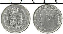Изображение Монеты Румыния 100 лей 1938 Медно-никель VF Карол II