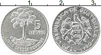 Продать Монеты Гватемала 5 сентаво 1964 Серебро