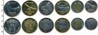 Изображение Наборы монет Антарктика - Французские территории 20 долларов 2011 Биметалл UNC-
