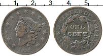 Изображение Монеты США 1 цент 1832 Медь XF