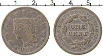 Изображение Монеты США 1 цент 1842 Медь VF