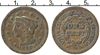 Изображение Монеты США 1 цент 1849 Медь XF