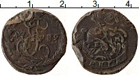 Продать Монеты 1762 – 1796 Екатерина II 1 деньга 1795 Медь