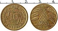 Продать Монеты Веймарская республика 10 пфеннигов 1935 Медь