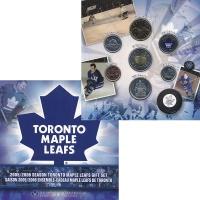 Изображение Подарочные монеты Канада Набор 2006 года. Торонто Мейпл Лифз 2006  UNC