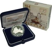 Изображение Подарочные монеты Италия 10 евро 2012 Серебро Proof