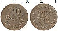Изображение Монеты Польша 20 грош 1949 Медно-никель XF