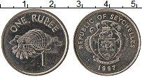 Изображение Монеты Сейшелы 1 рупия 1997 Медно-никель UNC- UNC-
