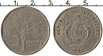 Изображение Монеты Сейшелы 5 рупий 1982 Медно-никель XF UNC-