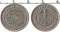 Продать Монеты Веймарская республика 50 пфеннигов 1929 Медно-никель