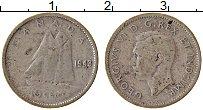 Изображение Монеты Канада 10 центов 1943 Серебро VF