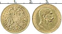 Изображение Монеты Европа Австрия 10 крон 1909 Золото UNC