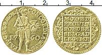 Продать Монеты Голландия 1 дукат 1760 Золото