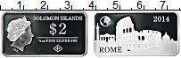 Изображение Монеты Соломоновы острова 2 доллара 2014 Серебро Proof