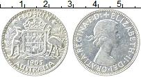 Изображение Монеты Австралия 1 флорин 1963 Серебро XF
